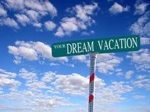 La vostra vacanza di sogno Fotografie Stock Libere da Diritti