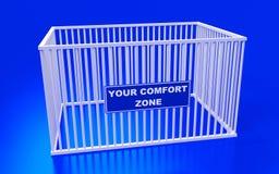 La vostra zona di comodità Fotografia Stock