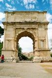 La voûte de Titus, Rome Photographie stock libre de droits