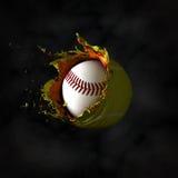 La vraie boule a placé 3 Photo stock