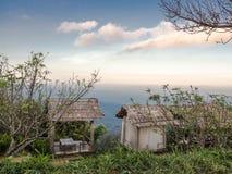 La vue élevée de montagne Image libre de droits