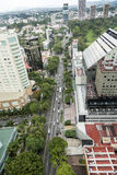 La vue aère de Guadalajara Photo stock