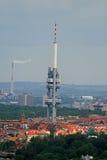 La vue aérienne de la ville de Prague Images stock