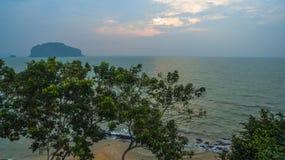 la vue aérienne Koh Yao Yai est en Phang Nga, Thaïlande photographie stock libre de droits