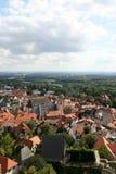 La vue au-dessus de Kronberg dans Taunus Photo libre de droits