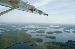 La vue au-dessus de la SK nordique. Image libre de droits