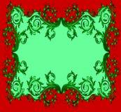 La vue avec l'ornamentom végétal. Photographie stock libre de droits