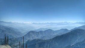 La vue d'infini des vallys loin et loin photographie stock