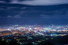 La vue d'oiseau de la ville de Cebu Image stock