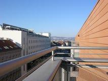 La vue d'un étudiant sur Vienne Photos stock