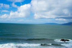 La vue dans l'extrémité de terres, San Francisco Photo stock