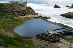La vue dans l'extrémité de terres, San Francisco Images stock