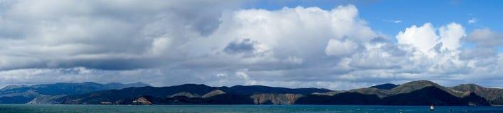 La vue dans l'extrémité de terres, San Francisco Photo libre de droits