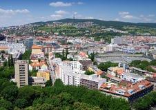 La vue dans le centre ville Photographie stock libre de droits