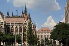 La vue de Budapest, année 2008 Photographie stock libre de droits