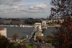 La vue de Budapest, année 2008 Photo libre de droits