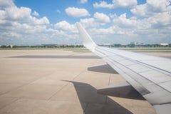 La vue de ciel de l'avion Images libres de droits
