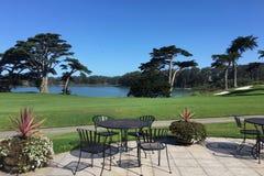 La vue de détente de Harding garent le terrain de golf municipal à San Francisco Images libres de droits