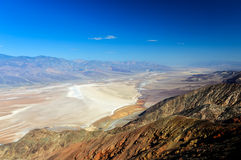 La vue de Dante, Death Valley Photo stock