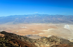 La vue de Dante, Death Valley Image stock