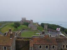 La vue de Dover Castle Photos libres de droits