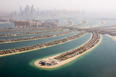 La vue de Jumeirah de paume Photo stock