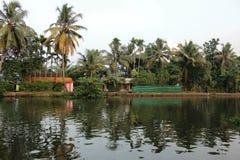 La vue de Kerela (Inde) Image libre de droits