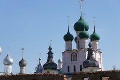 La vue de l'anneau d'or de la Russie - la ville de Rostov Veliky dans la région de Yaroslavl photos stock