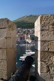 La vue de la forteresse Image libre de droits