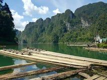 La vue de lac Photo stock