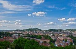 La vue de Lviv du clou Images stock