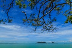 La vue de mer photo libre de droits