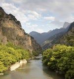 La vue de rivière image stock