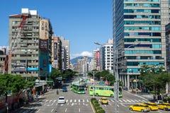 La vue de la rue de Chengde image stock