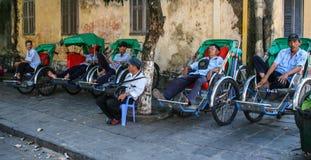 La vue de rue dans le hoi, Vietnam Photo stock