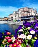La vue de Stockholm, Suède Images stock