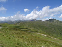 La vue de Wildkogel, Neukirchen, Hohen tauren, Zell AM voient, Salzbu Photo libre de droits