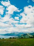 La vue des montagnes dans Monténégro de fort Gorazde Kot Photo stock