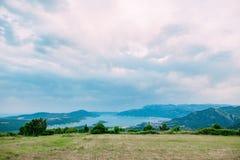La vue des montagnes dans Monténégro de fort Gorazde Kot Photographie stock