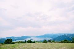 La vue des montagnes dans Monténégro de fort Gorazde Kot Photos stock