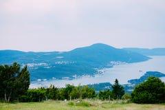 La vue des montagnes dans Monténégro de fort Gorazde Kot Photographie stock libre de droits