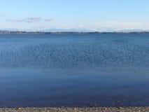 La vue des montagnes loin du port de Drayton Image libre de droits