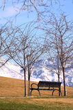 La vue devant le capitol d'état de l'Utah Image stock