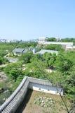 La vue du château de Himeji-jo au Japon en préfecture de Hyogo Images libres de droits