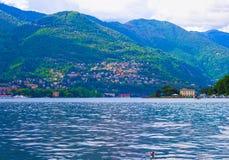 La vue du lac Como, Bellagio, Italie Photos libres de droits
