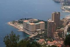 La vue du Monaco, année 2009 Images libres de droits