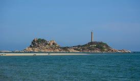 La vue du phare de Kega en Phan a sonné, le Vietnam Images libres de droits