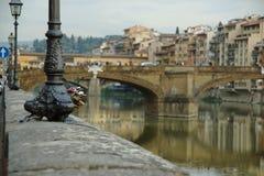 La vue du remblai de Florence Photo libre de droits