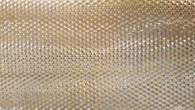 La vue en gros plan de photo abstraite de l'aluminium moderne a aéré le facad Images libres de droits