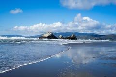 La vue en plage d'océan, plage d'océan, San Francisco Photographie stock